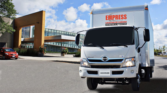 Location de camions EMPRESS - Overview